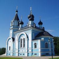 Храм Святителя Николая Чудотворца в посёлке Озерки