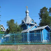 Храм-часовня святого великомученика и целителя Пантелеимона в посёлке Первомайское (Кивеннаппа)