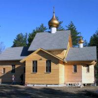 Храм Преображения Господня в посёлке Яковлево